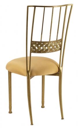 Gold Bella Braid with Gold Stretch Knit Cushion (1)