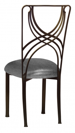 Bronze La Corde with Gunmetal Stretch Knit Cushion (1)
