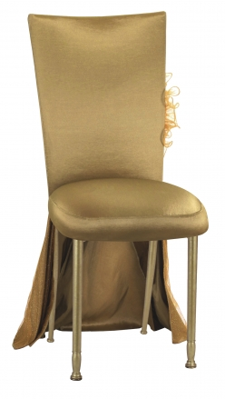 Gold Taffeta BET Dress with Boxed Cushion on Gold Legs (2)