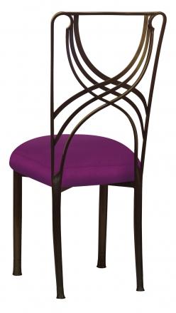 Bronze La Corde with Orchid Taffeta Boxed Cushion (1)