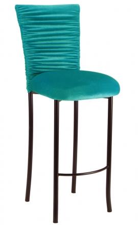 Turquoise Chloe on Brown Legs (2)