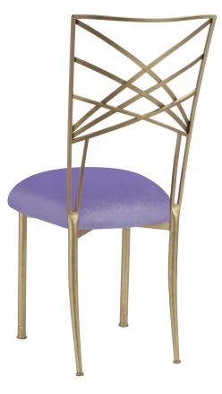 Gold Fanfare with Lavender Velvet Cushion (1)