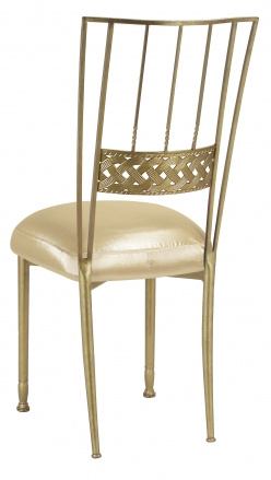 Gold Bella Braid with Champagne Nu Silk Boxed Cushion (1)