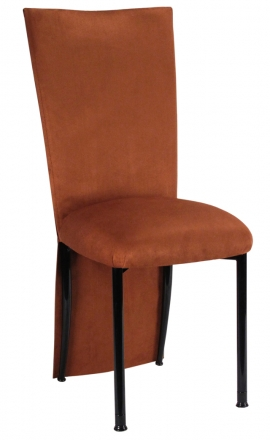 Cognac Suede Jacket and Cushion on Black Legs (2)