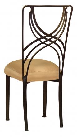 Bronze La Corde with Gold Taffeta Boxed Cushion (1)