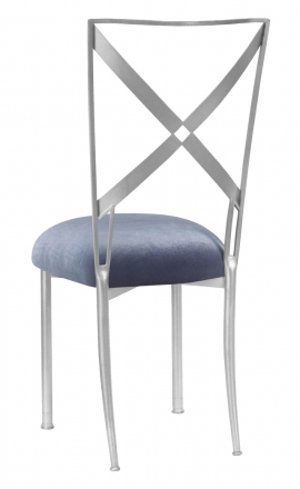 Simply X with Steel Velvet Cushion (1)