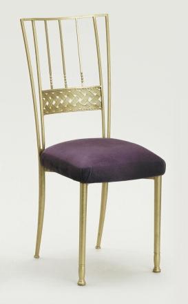 Gold Bella Braid with Lilac Suede Cushion (2)