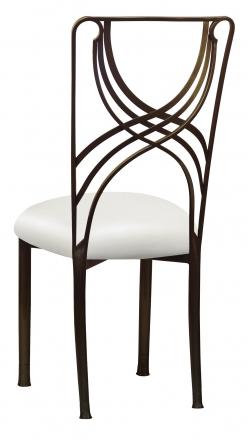 Bronze La Corde with White Leatherette Cushion (1)