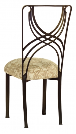 Bronze La Corde with Ravena Chenille Boxed Cushion (1)