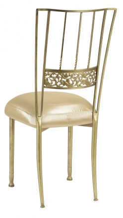 Gold Bella Fleur with Champagne Nu Silk Boxed Cushion (1)