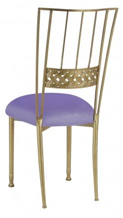 Gold Bella Braid with Lavender Velvet Cushion (1)