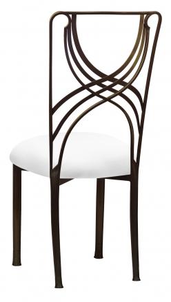 Bronze La Corde with White Stretch Knit Cushion (1)