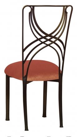 Bronze La Corde with Paprika Velvet Cushion (1)