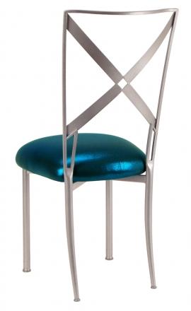 Simply X with Metallic Teal Cushion (1)