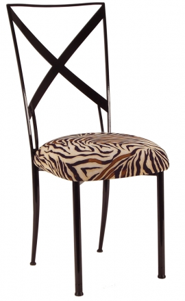 Blak. with Zebra Stretch Knit Cushion (2)