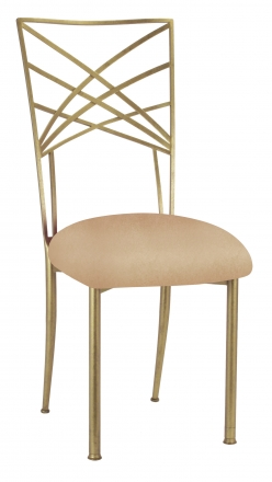 Gold Fanfare with Beige Stretch Knit Cushion (2)