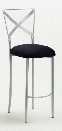 Simply X Barstool with Black Stretch Knit Cushion (2)