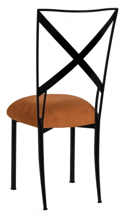Blak. with Copper Suede Cushion (1)