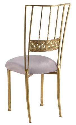 Gold Bella Braid with Silver Stretch Knit Cushion (1)