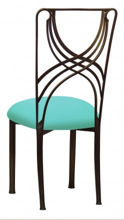 Bronze La Corde with Aqua Stretch Knit Cushion (1)