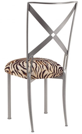 Simply X with Zebra Stretch Knit Cushion (1)