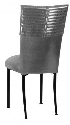 Head Dress with Gunmetal Stretch Knit Cushion on Black Legs (1)