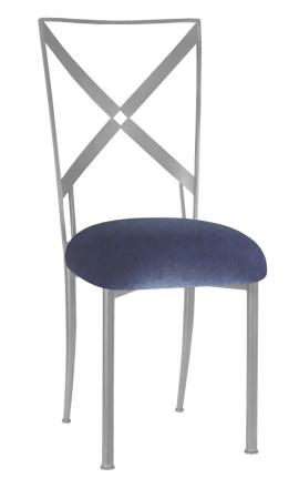Simply X with Steel Velvet Cushion (2)