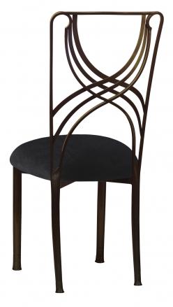 Bronze La Corde with Black Velvet Cushion (1)