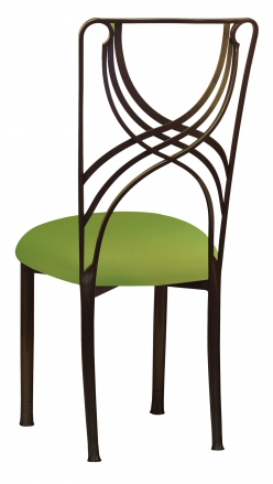 Bronze La Corde with Lime Stretch Knit Cushion (1)