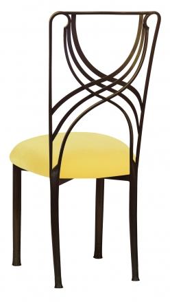 Bronze La Corde with Bright Yellow Velvet (1)