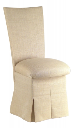 Parchment Linette Chair Cover and Cushion and Skirt (2)
