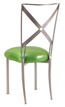 Simply X with Metallic Lime Cushion (1)
