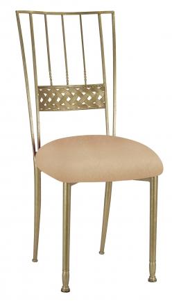 Gold Bella Braid with Beige Stretch Knit Cushion (2)