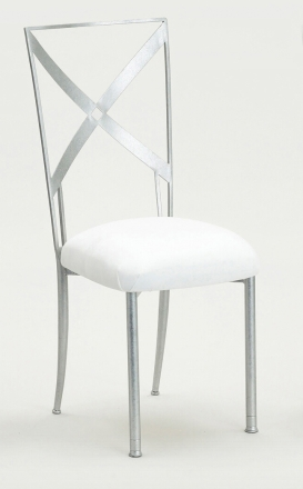 Simply X with White Suede Cushion (2)