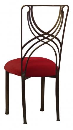 Bronze La Corde with Red Velvet Cushion (1)