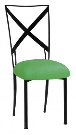 Blak. with Kelly Green Stretch Cushion (2)