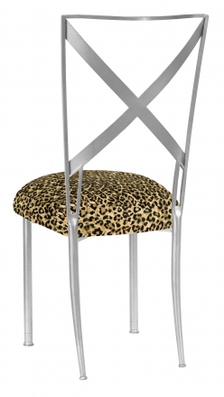 Silve Simply X with Leopard Boxed Cushion (1)