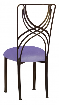 Bronze La Corde with Lavender Velvet Cushion (1)
