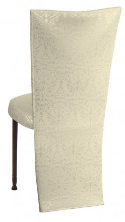 Victoriana Jacket with Boxed Cushion on Mahogany Legs (1)