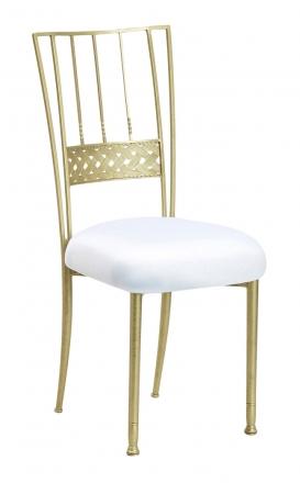 Gold Bella Braid with White Stretch Knit Cushion (2)