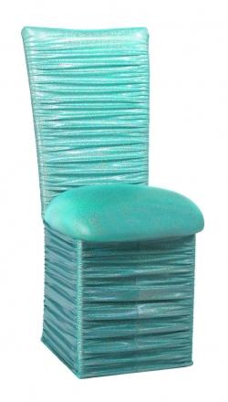 Chloe Mermaid Chair Cover, Cushion and Skirt (2)