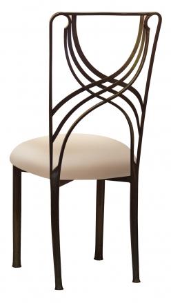 Bronze La Corde with Buttercream Stretch Knit Cushion (1)