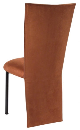 Cognac Suede Jacket and Cushion on Brown Legs (1)