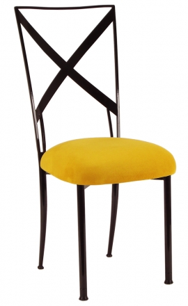 Blak. with Canary Suede Cushion (2)