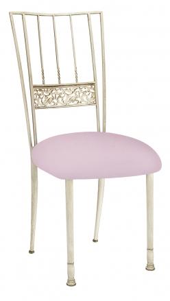 Ivory Bella Fleur with Soft Pink Velvet Cushion (2)