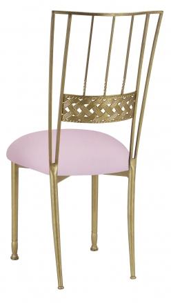 Gold Bella Braid with Soft Pink Velvet Cushion (1)