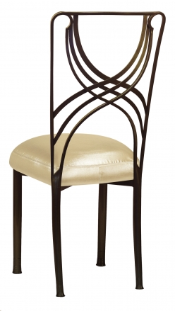 Bronze La Corde with Champagne Nu Silk Boxed Cushion (1)