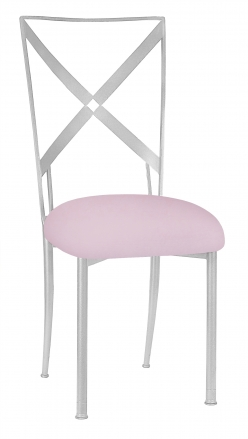 Simply X with Soft Pink Velvet Cushion (2)