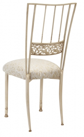 Ivory Bella Fleur with Ivory Lace Cushion (1)