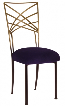Two Tone Gold Fanfare with Eggplant Velvet (2)